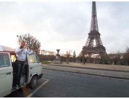 Road tripping. Berlin-Paris.