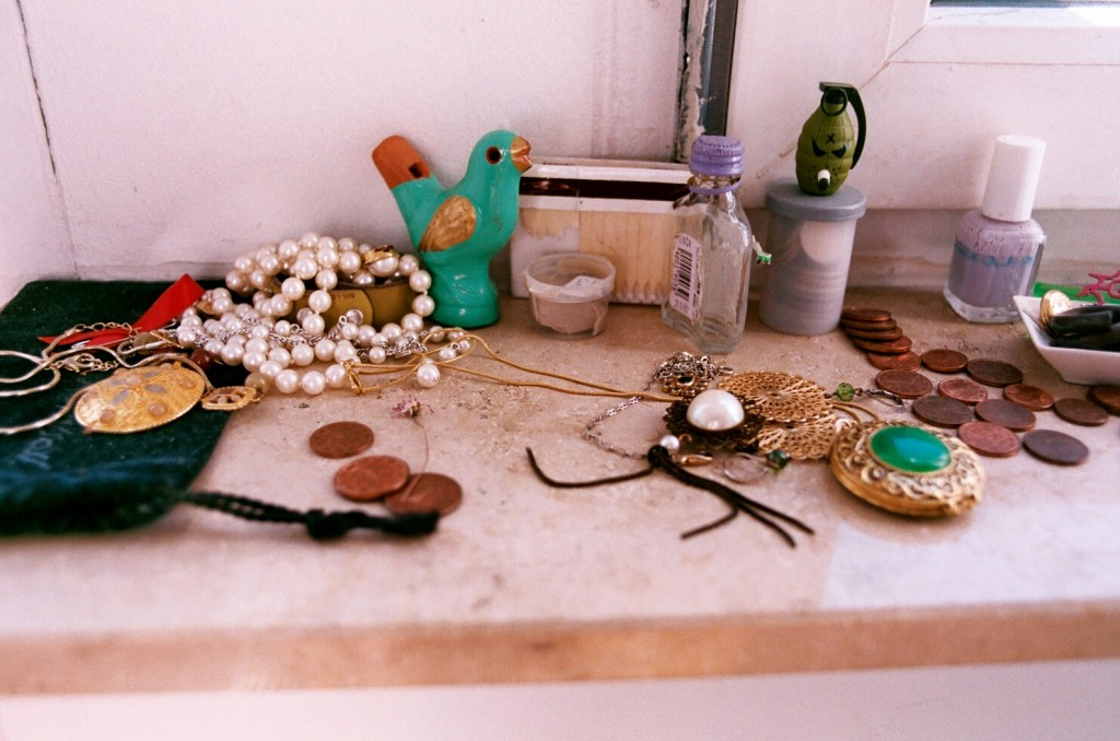 Trinkets used to combine my old life and my new one throughout my travels.
