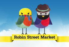 Robin Street Market: travel from your armchair