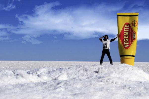 Salt desert Bolivia