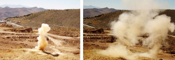 dynamite in Bolivia