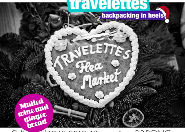 The Travelettes Christmas market is tomorrow