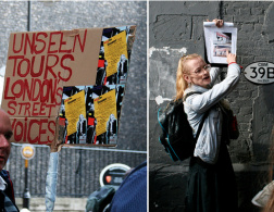 Unseen tours - London tours guided by homeless people