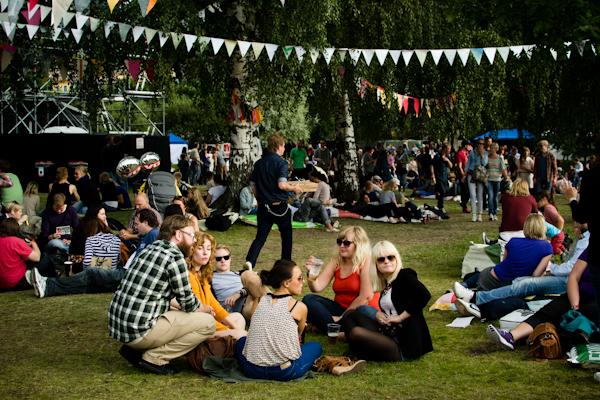 Øyafestivalen 2011 - a green music festival