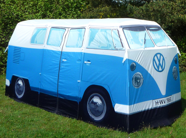 Star of the Camping Site - the VW T1 Tent