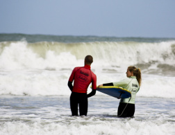 Surfing in England - Lessons from a Pro