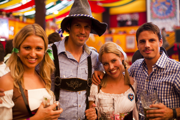 Oktoberfest 2011 - Beers, Boys and Dirndls