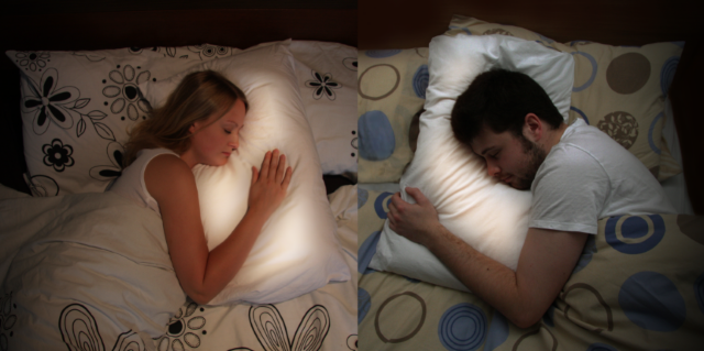 Long Distance Relationship? There's Always Pillow Talk.