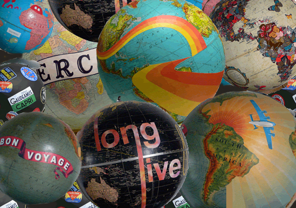 Art on Globes
