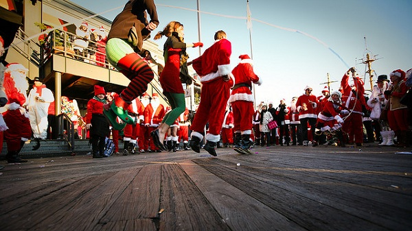 SantaCon is coming to town! (fa la la la la la la la la)