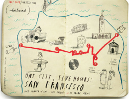 Cartography love: One City, Five Hours