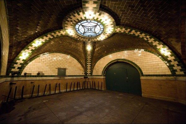 City Hall Subway Station 10 New York City's Hidden Subway Station