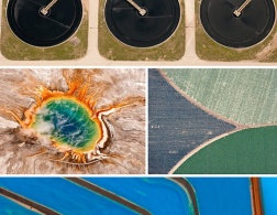 Patterns from above