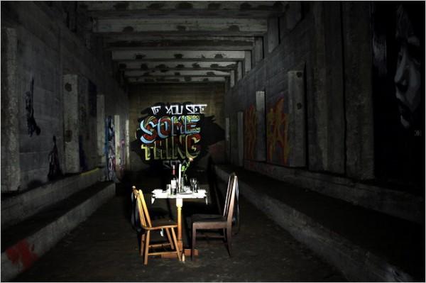 underbelly popup 01 600x399 New York City's Hidden Subway Station