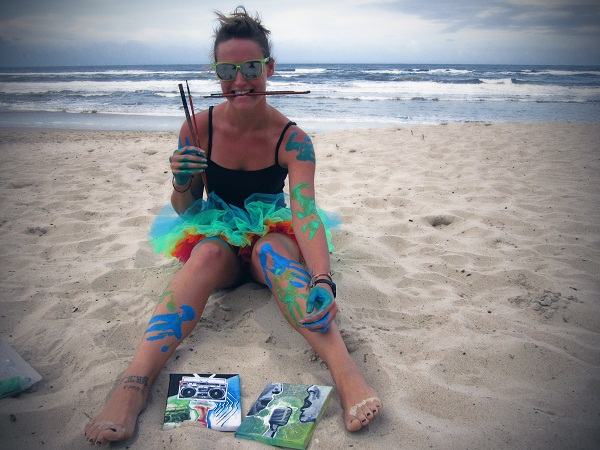 Doodlin' in Queensland: an interview with Jodie Lyons