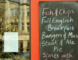 East London - the place for British food in Berlin