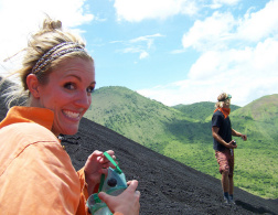 Volcano Boarding: Extreme and Dusty
