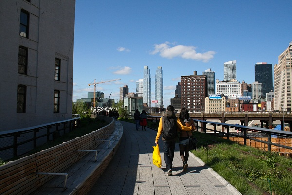 NYC's High Line: an elevated oasis