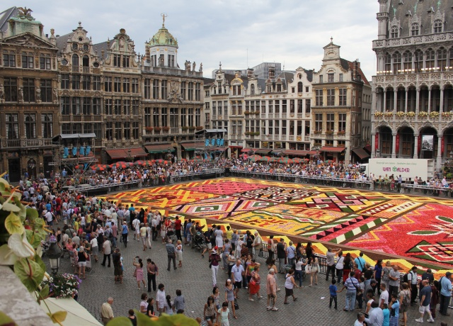 Brussels' flower carpet