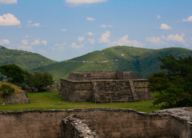 The Ruins of Xochicalco, Mexico