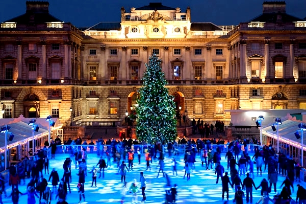 10 cool Ice-Skating Rinks around the World