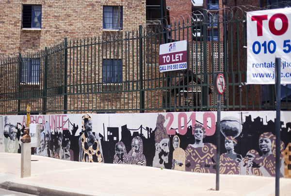 street art in johannesburg, photographed by katja hentschel for by travelettes