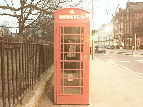 Phonebox London