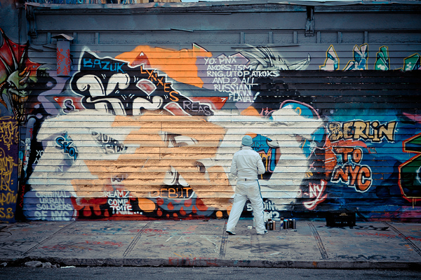 5 Pointz - the heart of street art in NYC