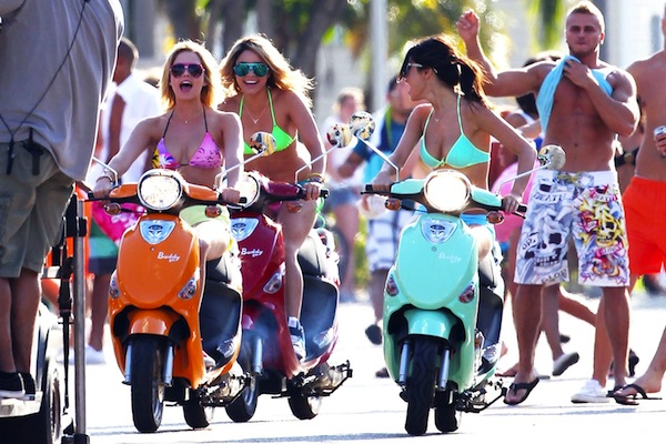 Selena-Gomez-and-Ashley-Benson-Scooters-Spring-Breakers