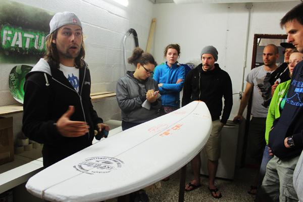 surfboard shape fatum
