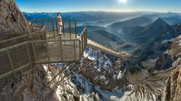 Dachstein Glacier bridge Austria