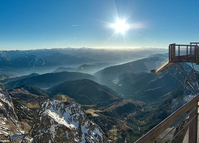 Stairway to nothingness, Austria