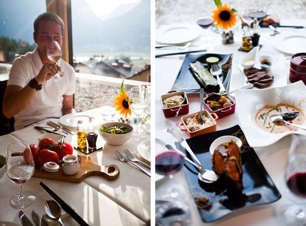 nira alpina dinner