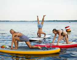 SUP Yoga in Berlin - An Experiment
