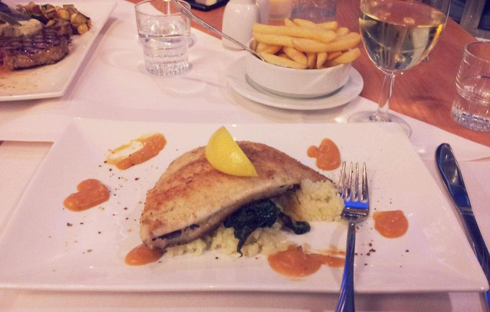 Stenaline Ferries Dinner