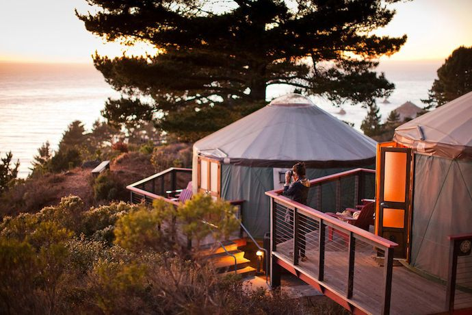 Glamping in California / Travelettes