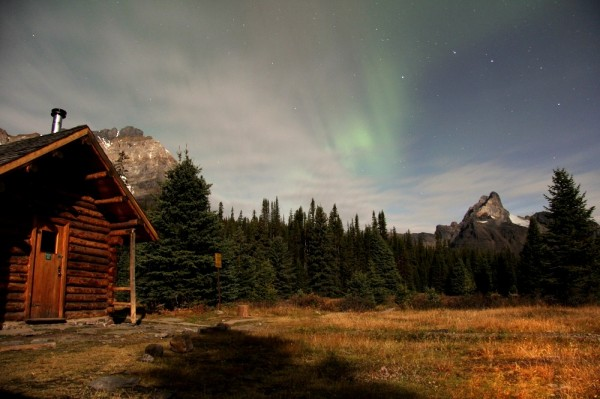 yoho national park - northern lights