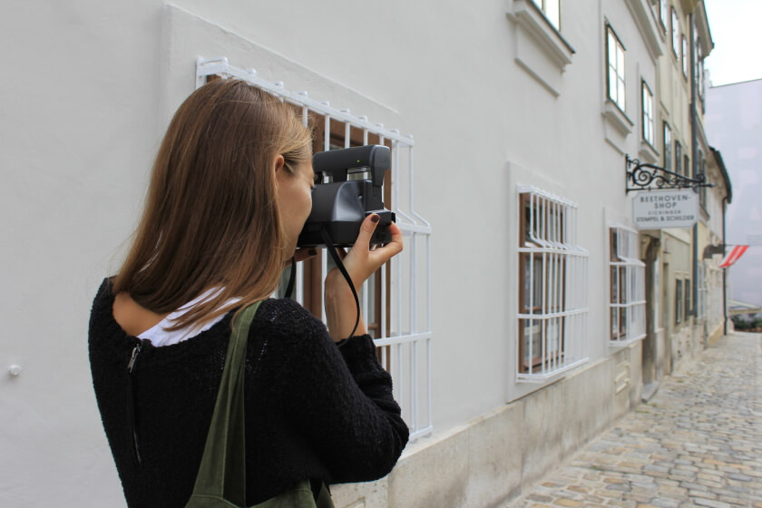Back to the roots of Photography: PolaWalk in Vienna