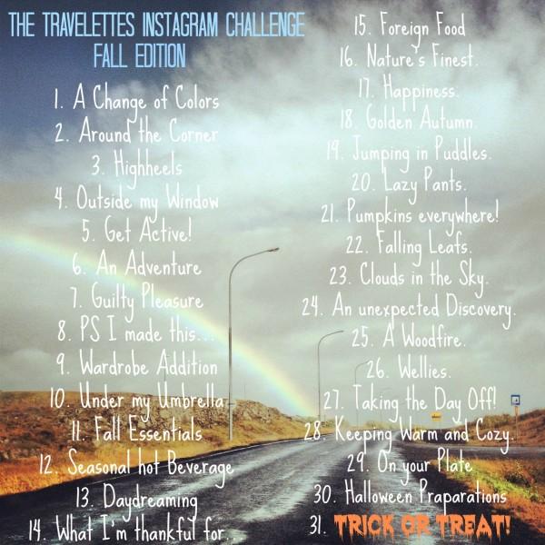 instagram challenge fall october