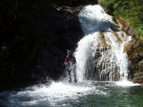 Canyoning in the Pyrenees