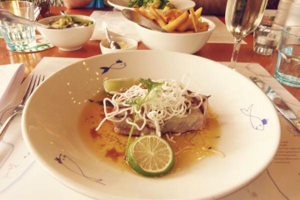 Hotel New York Tuna Steak