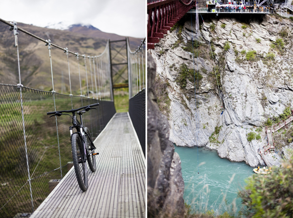 bungy and mountainbiking queenstown