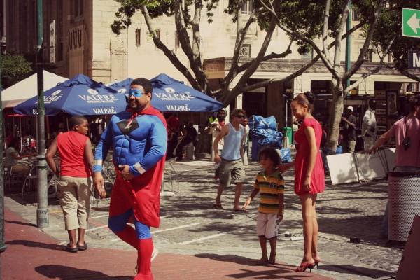 superman at work