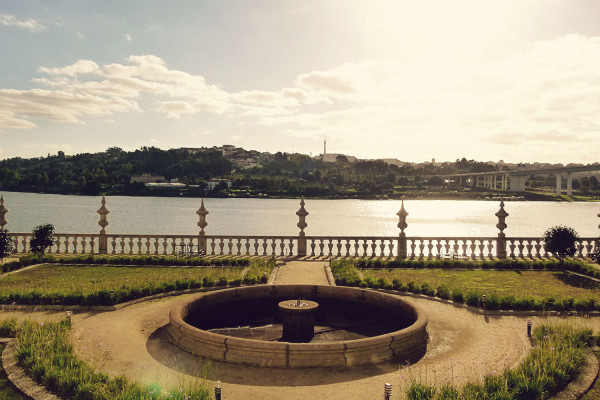 Garden at Palacio do Freixo, Porto
