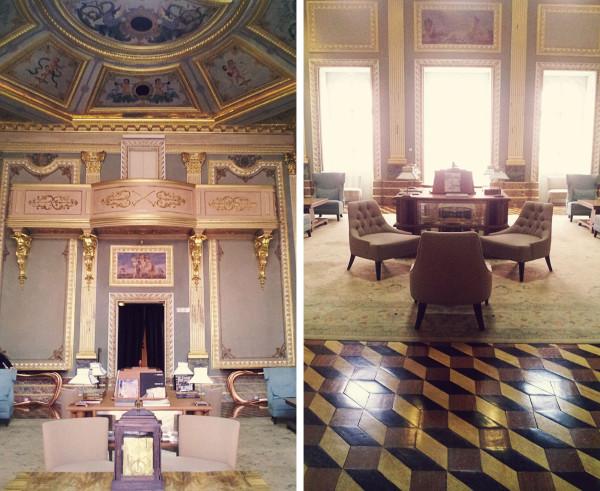 Inside Palacio do Freixo Hotel