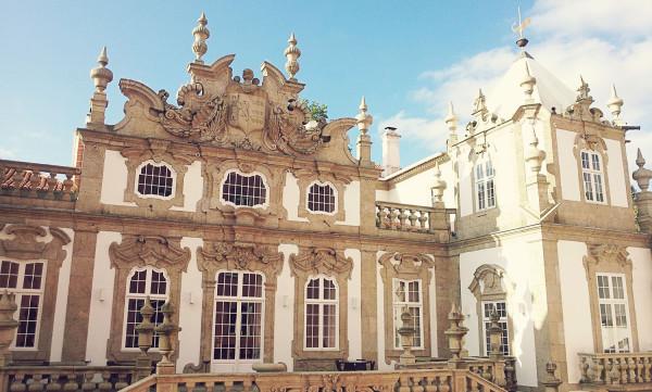 View of Palacio do Freixo