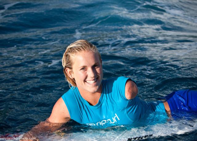 Bethany Hamilton - Pro Surfer with Faith