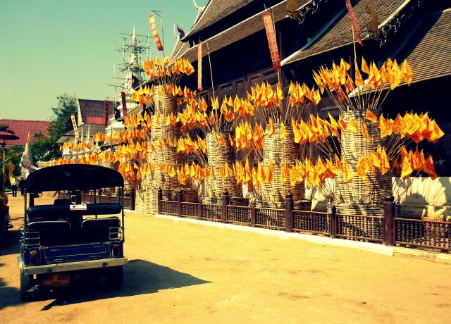 Wheeling around Chiang Mai, Thailand