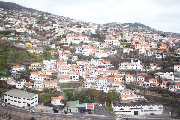 View from Cable Car in Madeira