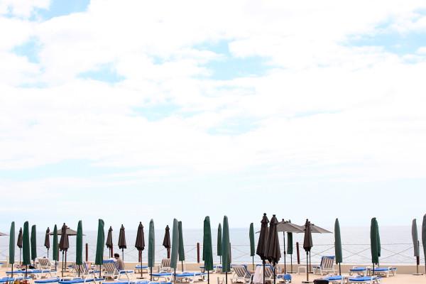 Parasols at Cliff Bay Hotel